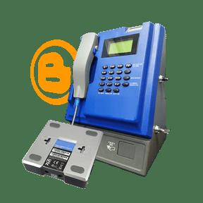 Teléfono Monedero Publico recaudador VOIP prepago